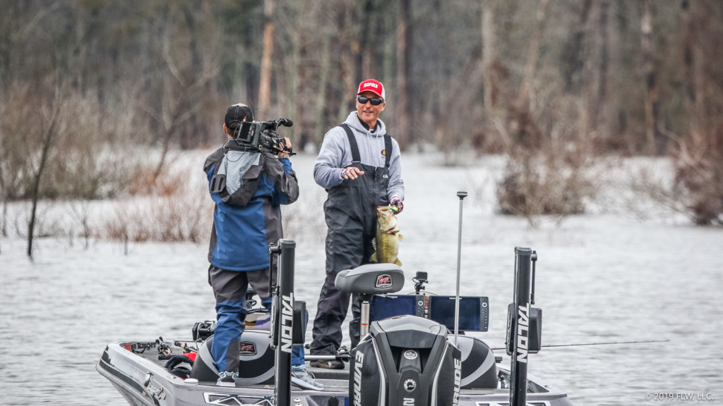 Image for Kentucky's Bolton Holds Lead on Day Three of FLW Tour at Sam Rayburn Reservoir presented by Polaris