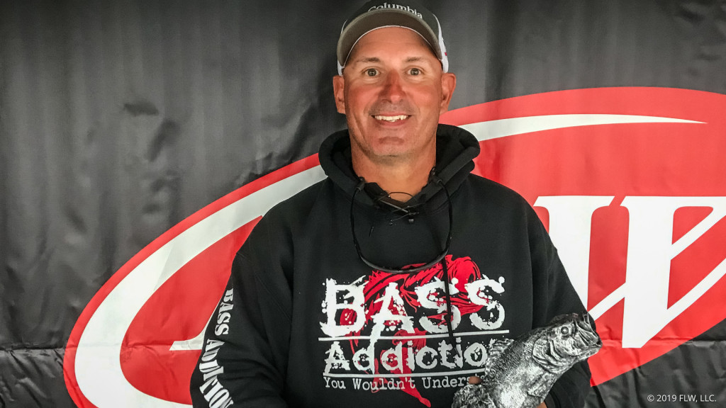Image for Fort Myers' Anderson Wins T-H Marine FLW Bass Fishing League Gator Division Opener on Lake Okeechobee