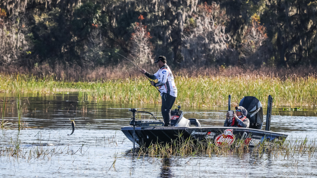 Image for Cox Holds Lead after Day Two of FLW Tour at Lake Toho Presented by Ranger Boats