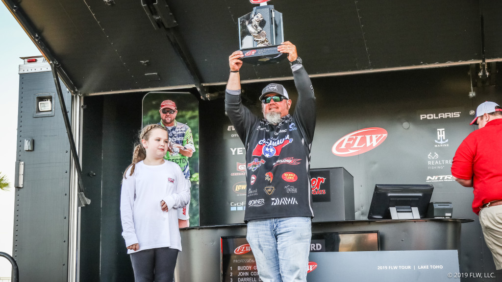 Image for Georgia's Gross Wins FLW Tour at Lake Toho Presented by Ranger Boats