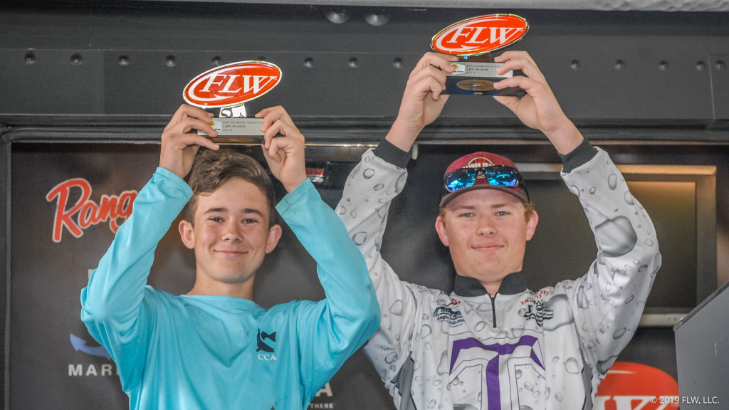 Image for Thrall High School Wins 2019 Bass Pro Shops FLW High School Fishing Sam Rayburn Reservoir Open