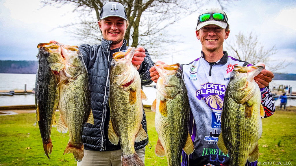 Image for University of North Alabama Wins YETI FLW College Fishing Southeastern Conference Tournament on Lake Guntersville presented by Bass Pro Shops