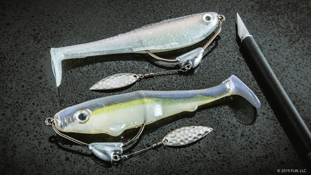 Image for How Buddy Rigs a Hollow Swimbait