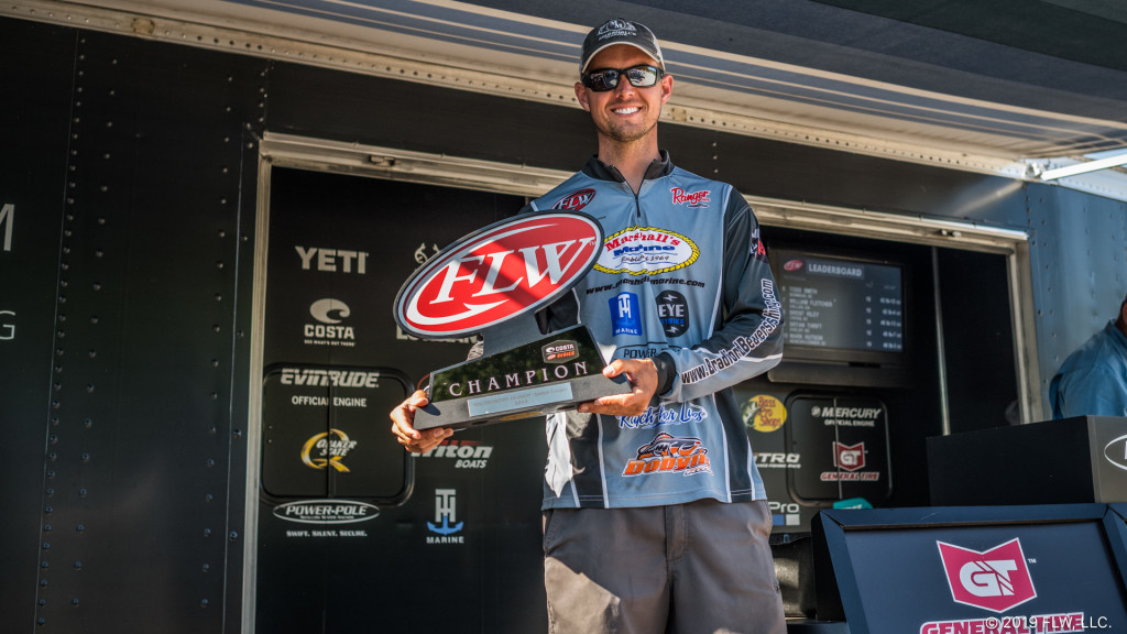 Image for Beavers Wins Costa FLW Series Tournament on Santee Cooper Lakes Presented by Power-Pole