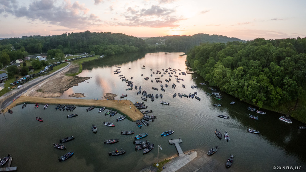 Image for Lake Chickamauga Readies for Return of 2020 Tackle Warehouse Pro Circuit