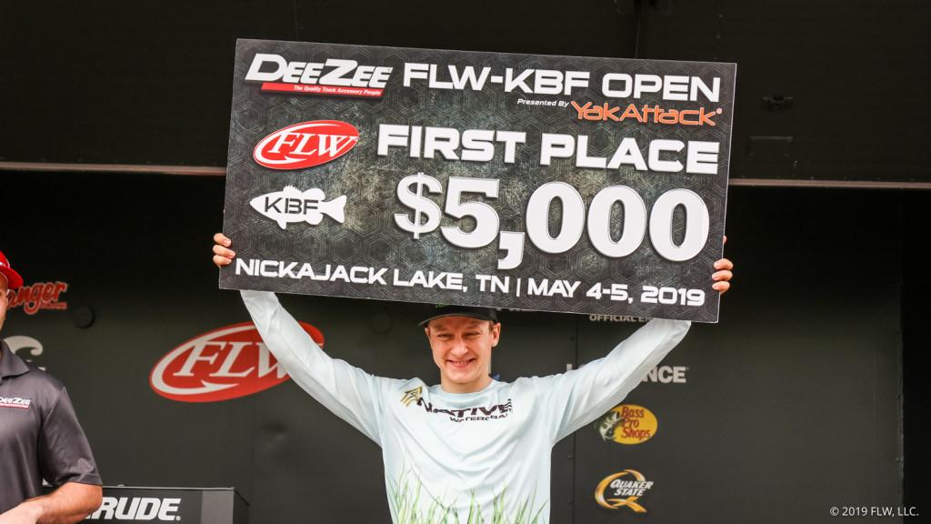 Image for Michigan's Korostetskyi Wins Dee Zee FLW/KBF Kayak Open at Nickajack Lake presented by YakAttack