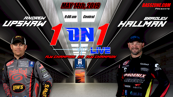 Image for Upshaw and Hallman set for BassZone 1 on 1 LIVE