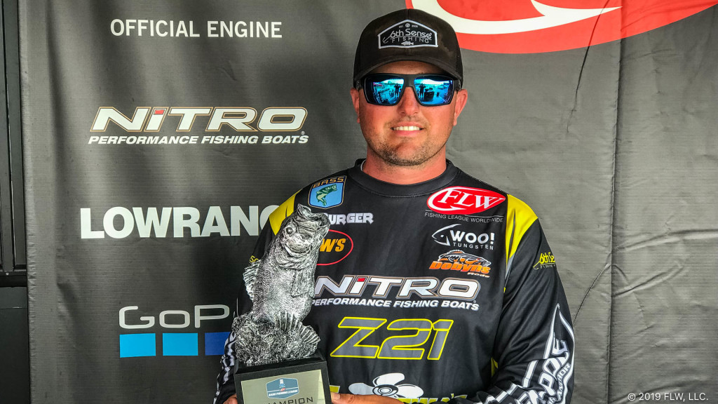 Image for New Jersey's Burger Wins T-H Marine FLW Bass Fishing League Opener on Chesapeake Bay Presented by Navionics