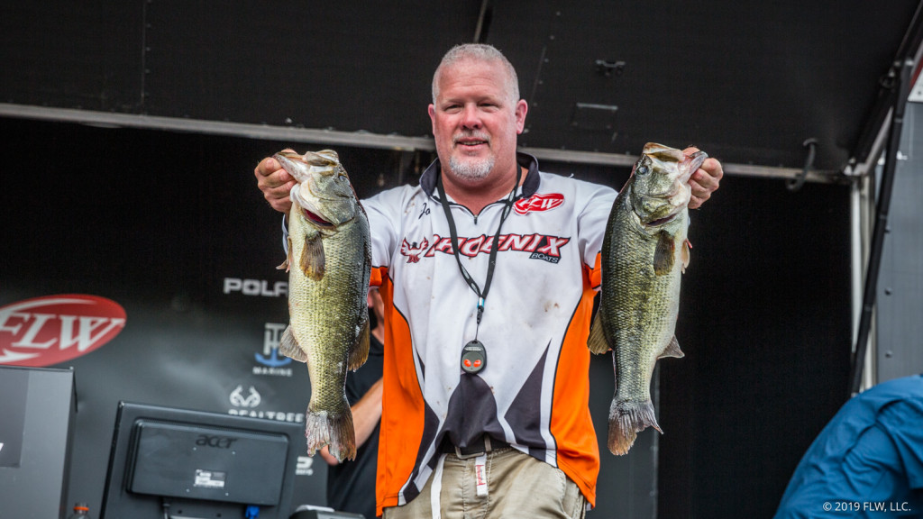 Image for Pennsylvania's Thompson Out Front at T-H Marine BFL All-American on the Potomac River Presented by General Tire