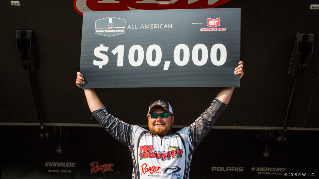 Image for Illinois' McCord Wins T-H Marine BFL All-American on the Potomac River Presented by General Tire