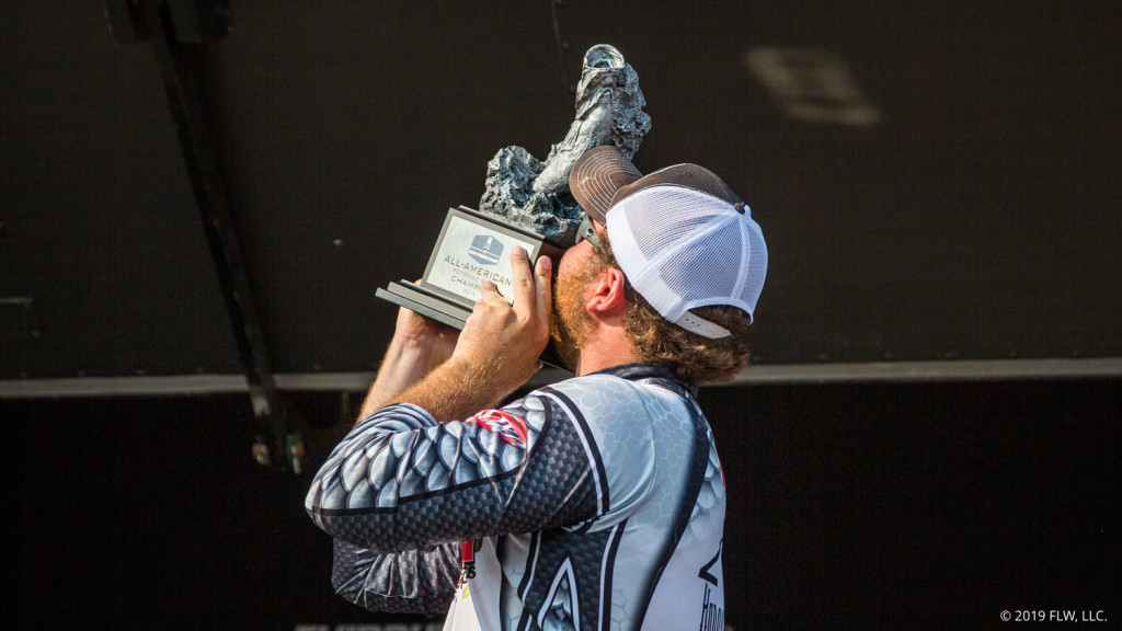 Image for Top Finishers from T-H Marine BFL All-American, YETI FLW College Fishing National Championship Interviewed by Outdoor Radio Host Jerry Kripp