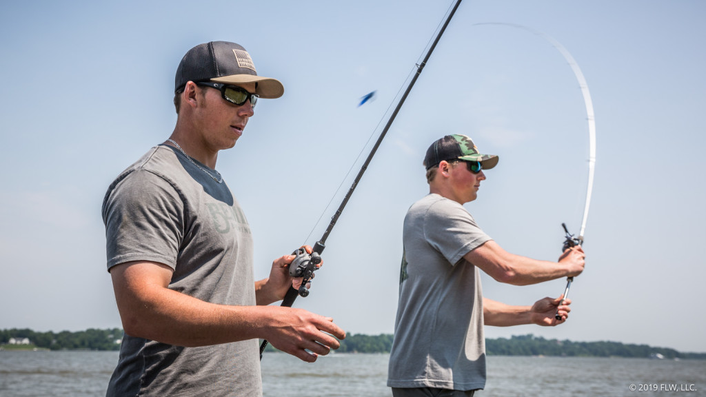 Image for Bass Fishing's in the Blood for Swanson Brothers