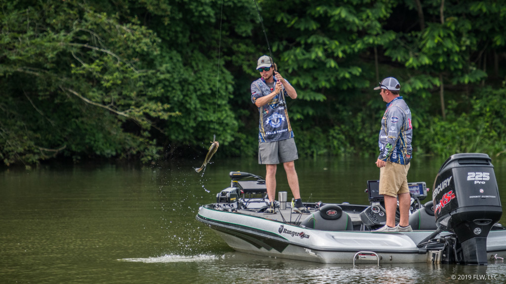Image for Murray State Takes Control on Day Two of YETI FLW College Fishing National Championship on Potomac River presented by Lowrance