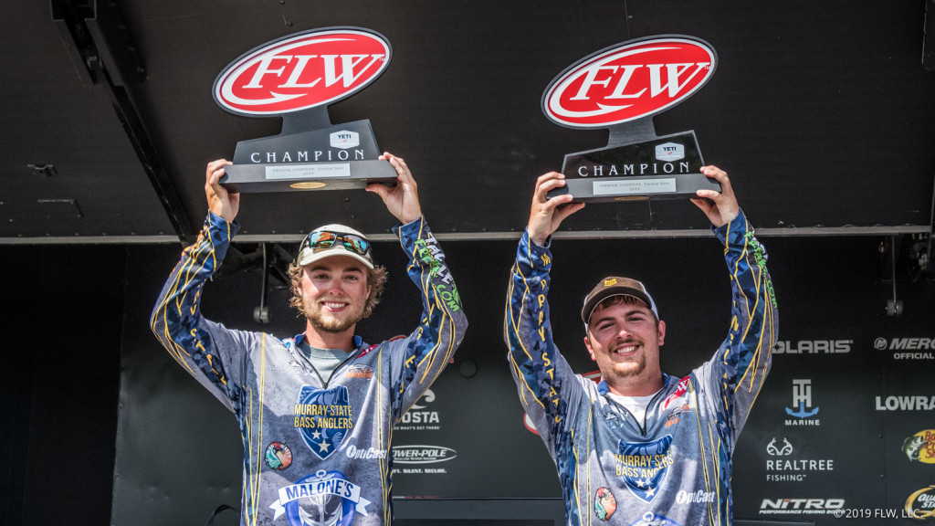 Image for Murray State University Wins YETI FLW College Fishing National Championship on Potomac River presented by Lowrance