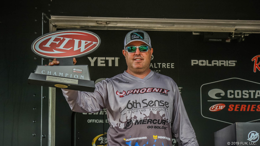 Image for Texas' Wilson Goes Wire-To-Wire, Wins Costa FLW Series Tournament on Sam Rayburn presented by Mercury