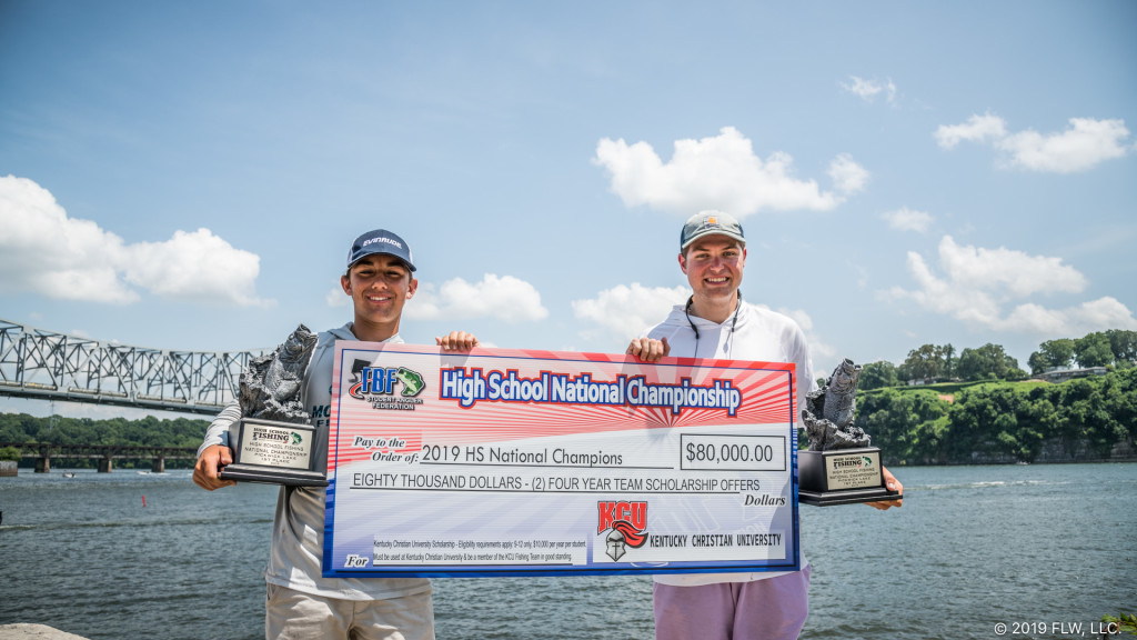Image for Louisiana's Northlake Christian School Wins 2019 TBF/FLW High School Fishing National Championship on Pickwick Lake