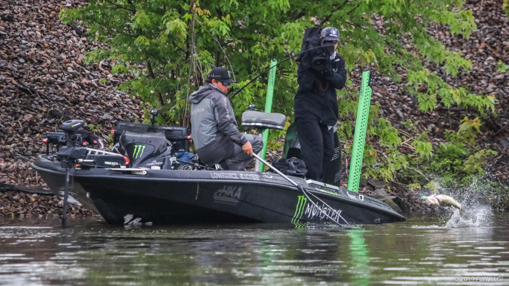 Image for Stewart Still on Top, Dudley Clinches AOY Title at FLW Tour Event on Lake Champlain Presented by T-H Marine