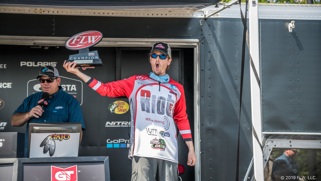 Image for McKee Takes Co-Angler Title