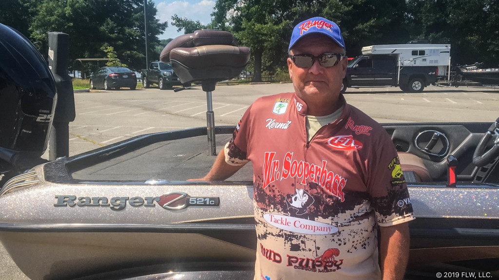 Image for Virginia's Crowder Wins T-H Marine FLW Bass Fishing League Tournament on Potomac River Presented by Navionics