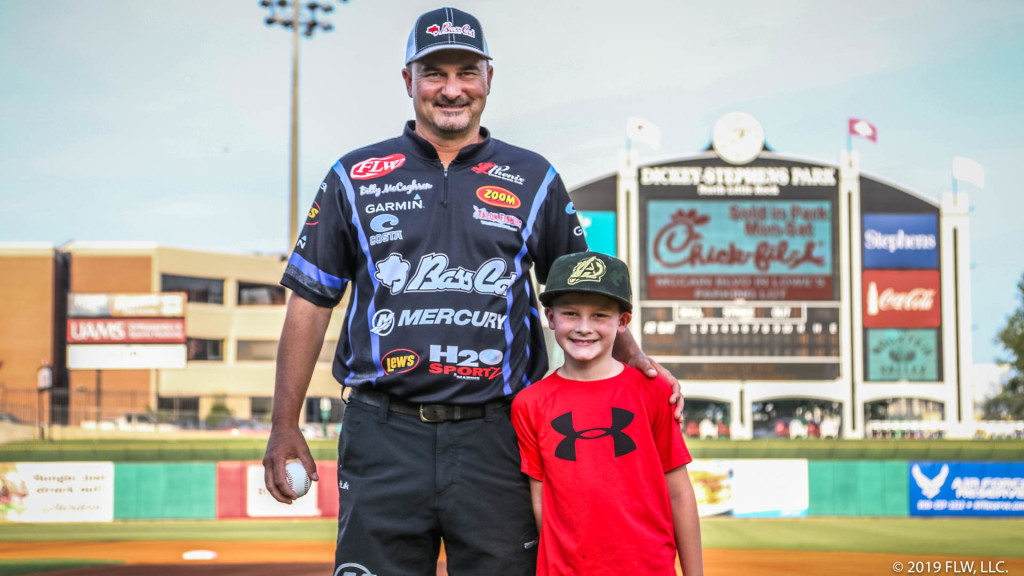 Image for McCaghren Lives Out Childhood Baseball Dream