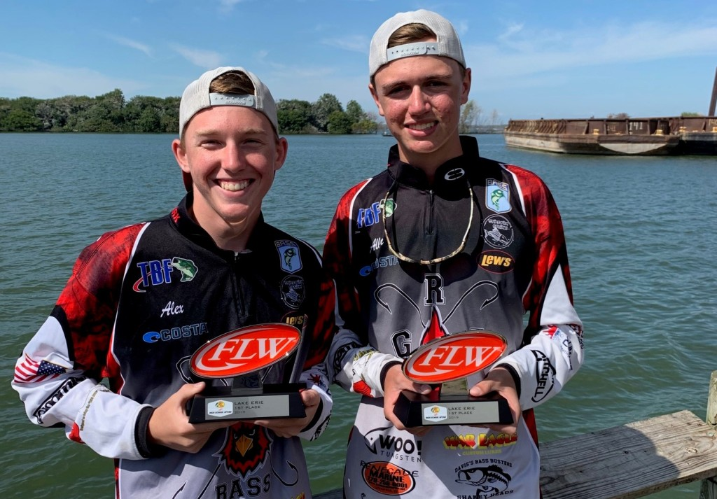 Image for Kentucky's George Rogers Clark High School Wins Bass Pro Shops FLW High School Fishing Lake Erie Open presented by Costa Sunglasses