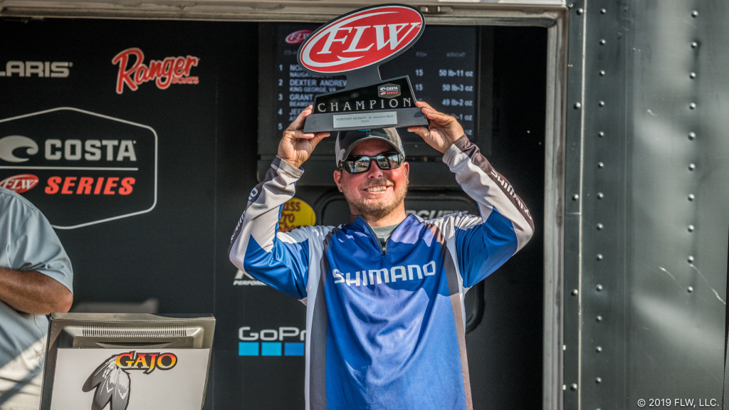 Image for Co-Angler Winslow Goes Light to Win