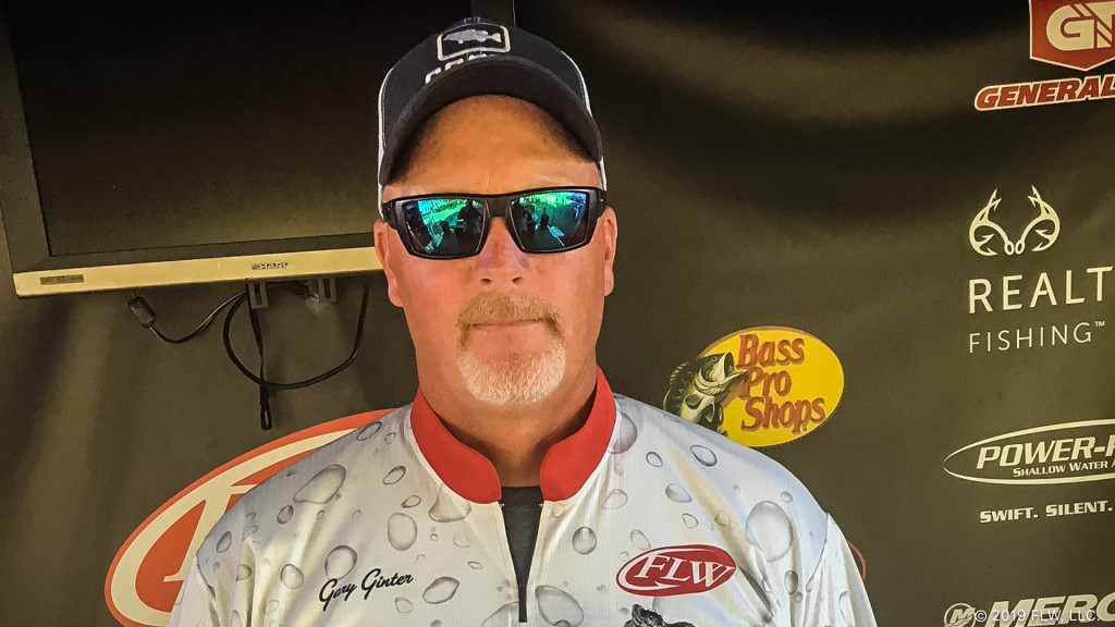 Image for Lakeview's Ginter Wins Two-Day T-H Marine FLW Bass Fishing League Event on Mosquito Lake