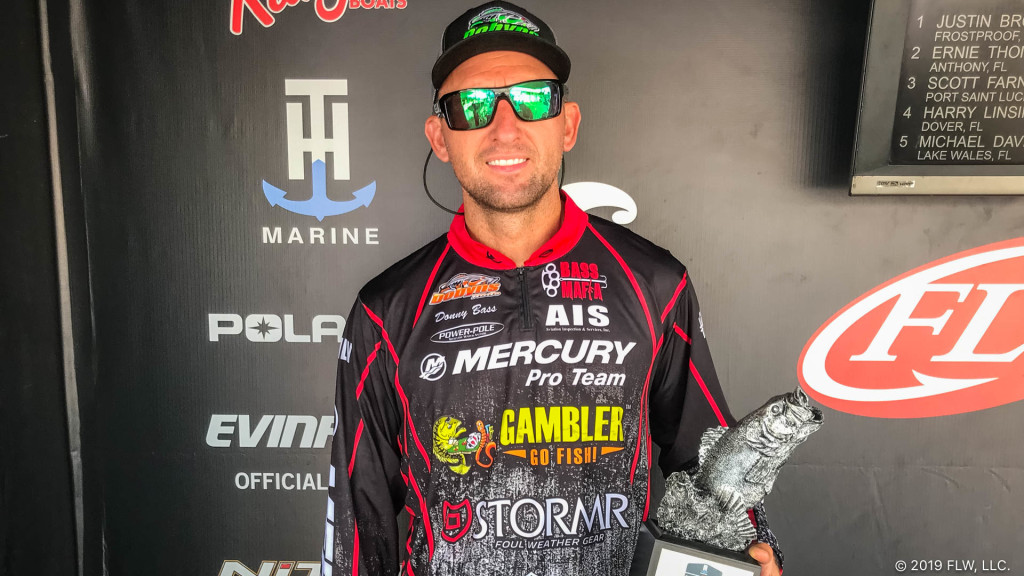 Image for Bass Flips up Super Tournament Title on Big O