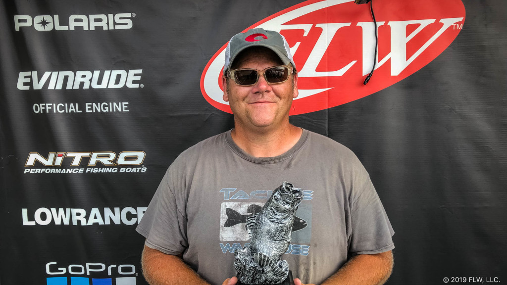 Image for Jasper's Bateman Wins Two-Day T-H Marine FLW Bass Fishing League Event on Ohio River at Tanners Creek