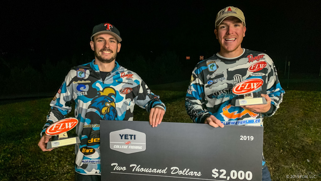 Image for Coastal Carolina University Wins YETI FLW College Fishing Tournament on Lake Hartwell presented by Costa