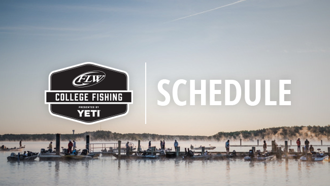 Image for 2020 FLW College Fishing Details