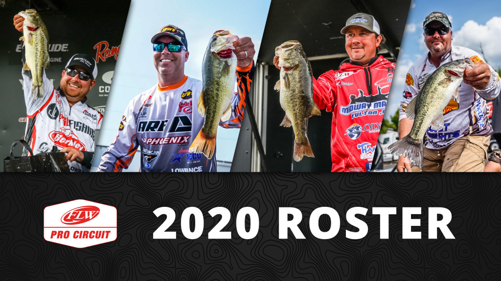 Image for FLW Announces 2020 FLW Pro Circuit Roster