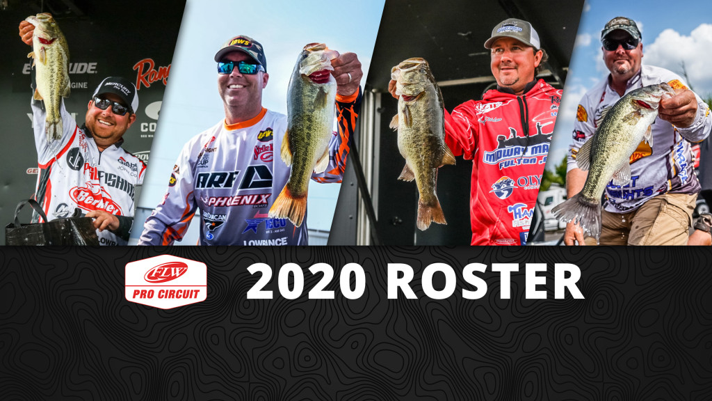 Image for 2020 FLW Pro Circuit Roster Set