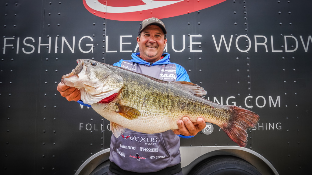 Image for Johnston In Front at Toledo Bend