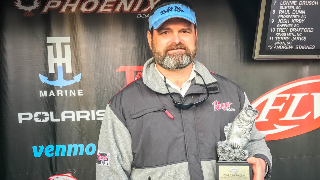 Image for Fayetteville's Guyot Earns Win at Phoenix Bass Fishing League Tournament on Lake Murray