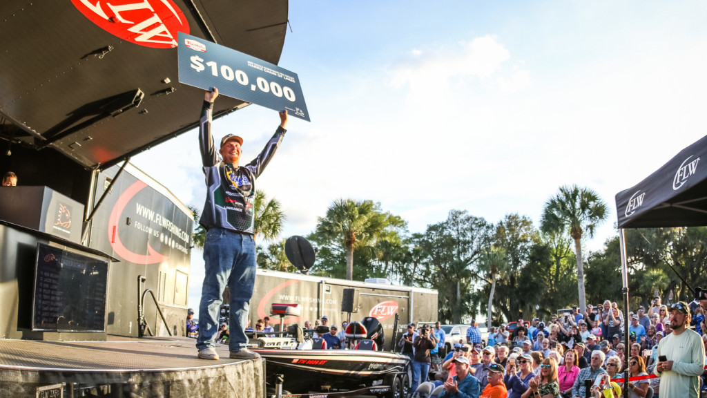 Image for Local Rookie Strickland Wins Tackle Warehouse Pro Circuit at Harris Chain of Lakes presented by Bad Boy Mowers