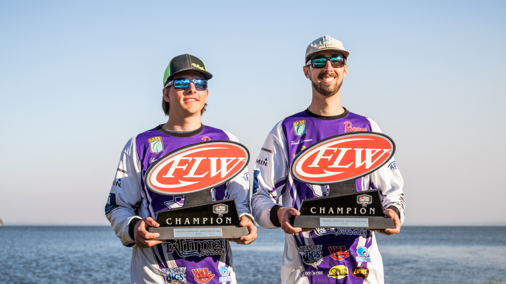 Image for Stephen F. Austin State University Wins Abu Garcia College Fishing presented by YETI National Championship presented by Lowrance on the Harris Chain