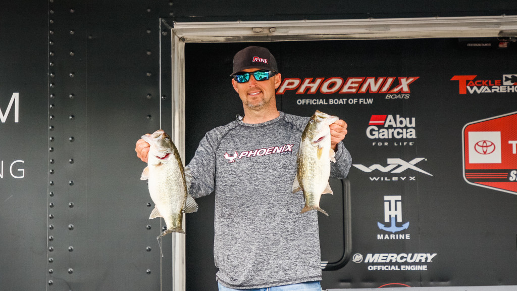Image for Robinson Still on Top at Hartwell
