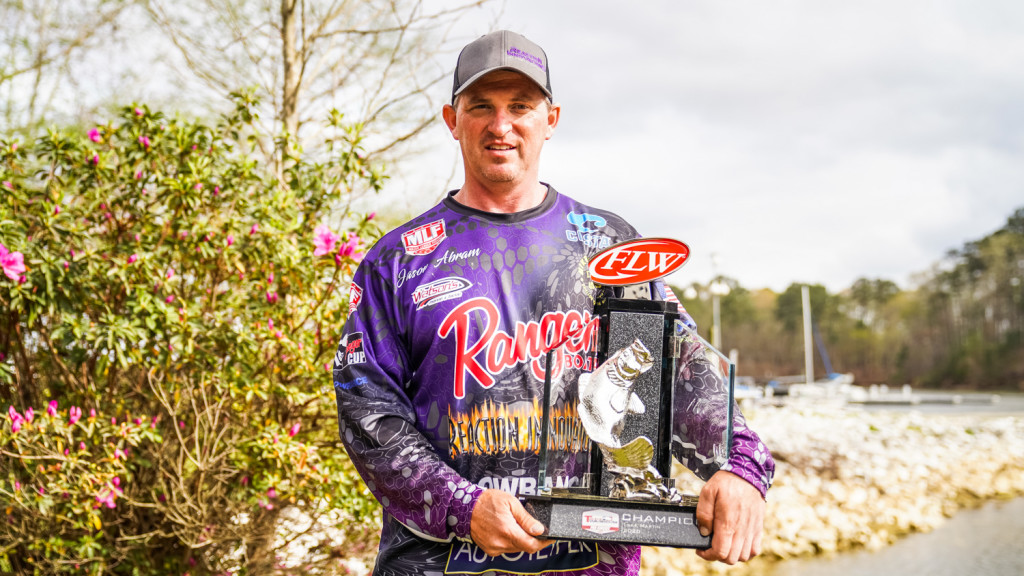 Image for Jason Abram Wins Tackle Warehouse Pro Circuit at Lake Martin