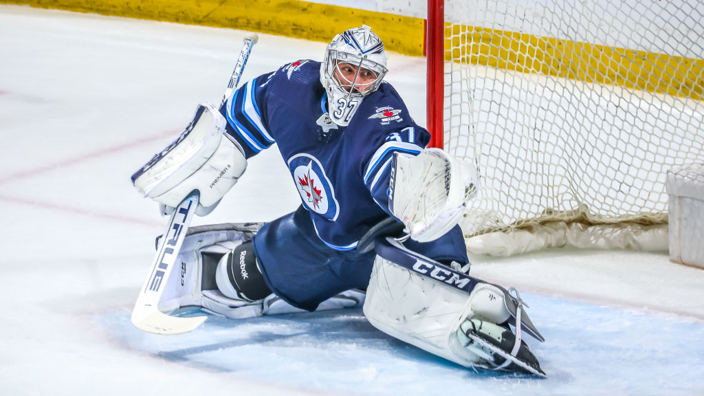 Image for Q&A: Winnipeg Jets Goalie Connor Hellebuyck