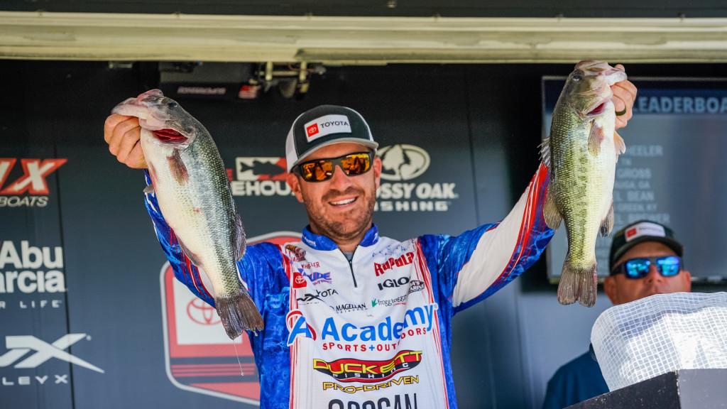 Image for Jacob Wheeler Wins Toyota Series Tournament at Pickwick Lake