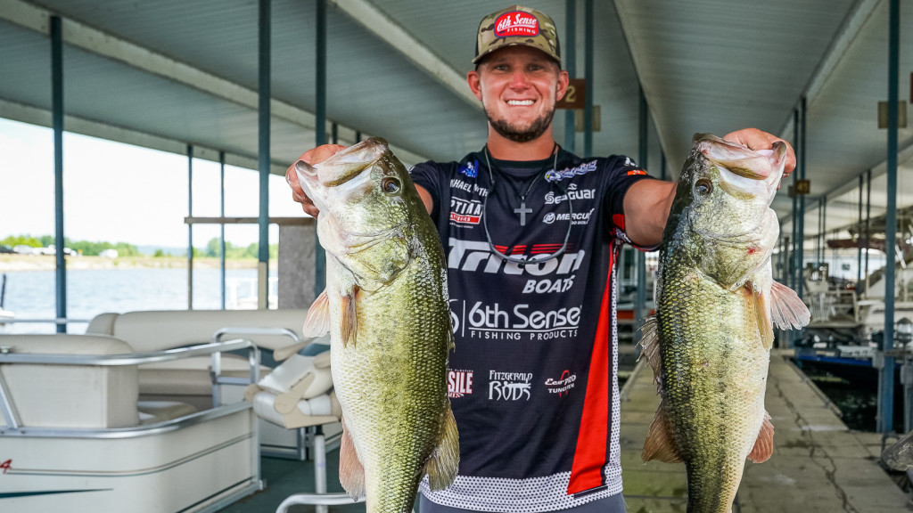 Image for Smith Leads at Eufaula with 50 Pounds