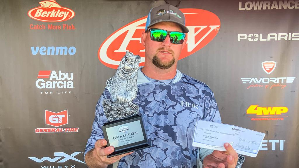 Image for McAlester's Eldridge and Bokchito's Burkett Earn Wins at Phoenix Bass Fishing League Double-Header on Eufaula Lake