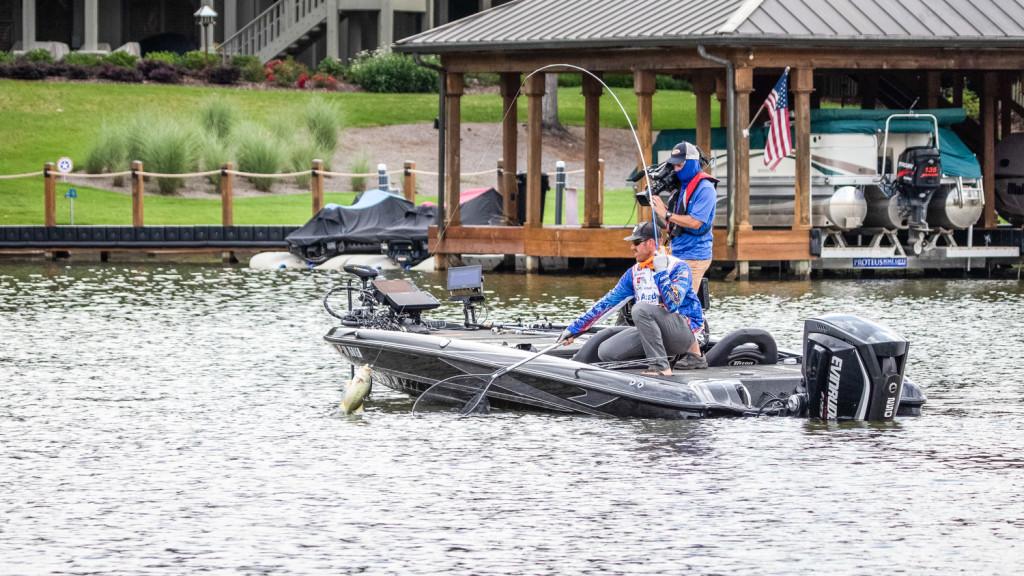 Image for Wheeler Reclaims Lead at Tackle Warehouse Pro Circuit Super Tournament at Lake Chickamauga