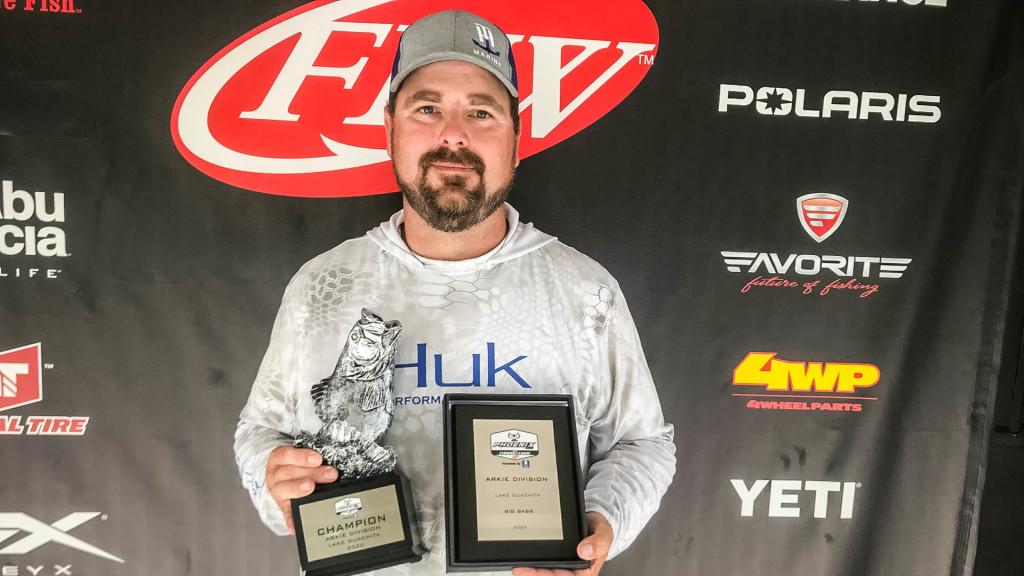 Image for Sheridan's Richmond Wins Phoenix Bass Fishing League Tournament on Lake Ouachita