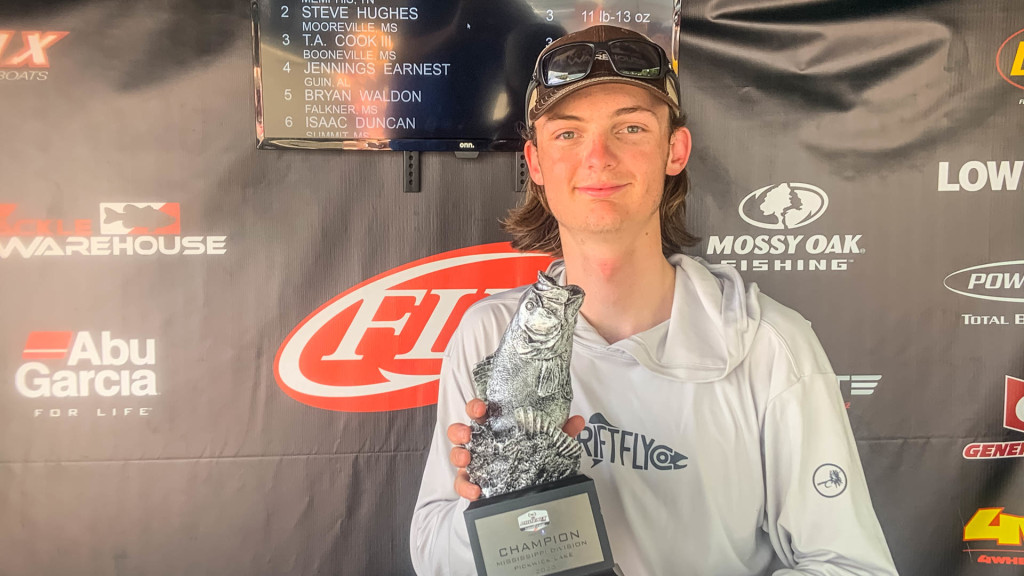 Image for Memphis' Scott Wins Saturday, Kingston Springs' Anderson Wins Sunday at Phoenix Bass Fishing League Double-Header on Pickwick Lake