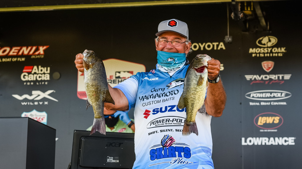 Image for Monsoor Vaults into Lead on Day Two of Tackle Warehouse Pro Circuit at the Mississippi River presented by OPTIMA Batteries