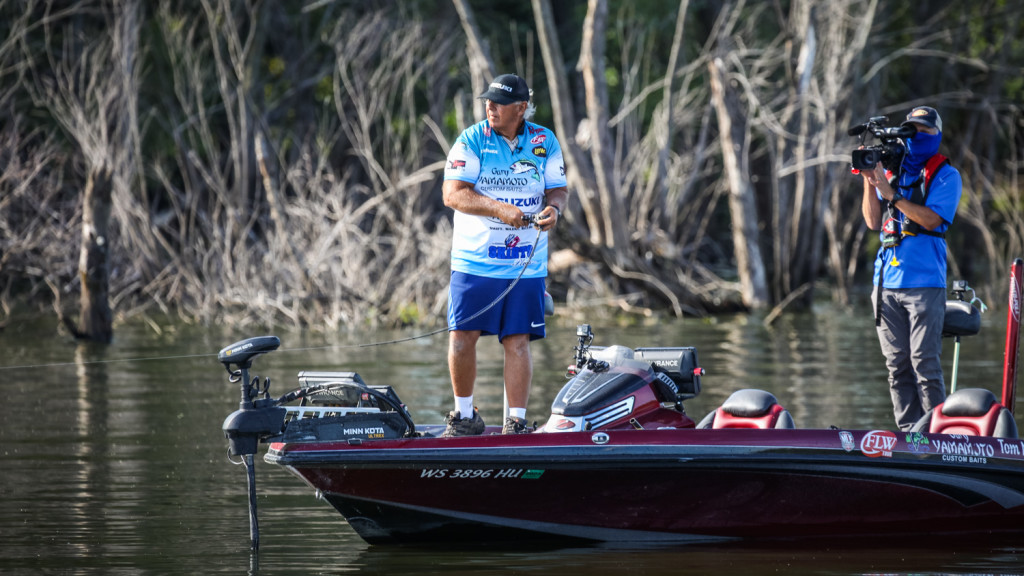 Image for Monsoor Holds Lead Heading into Final Day at Tackle Warehouse Pro Circuit at the Mississippi River presented by OPTIMA Batteries