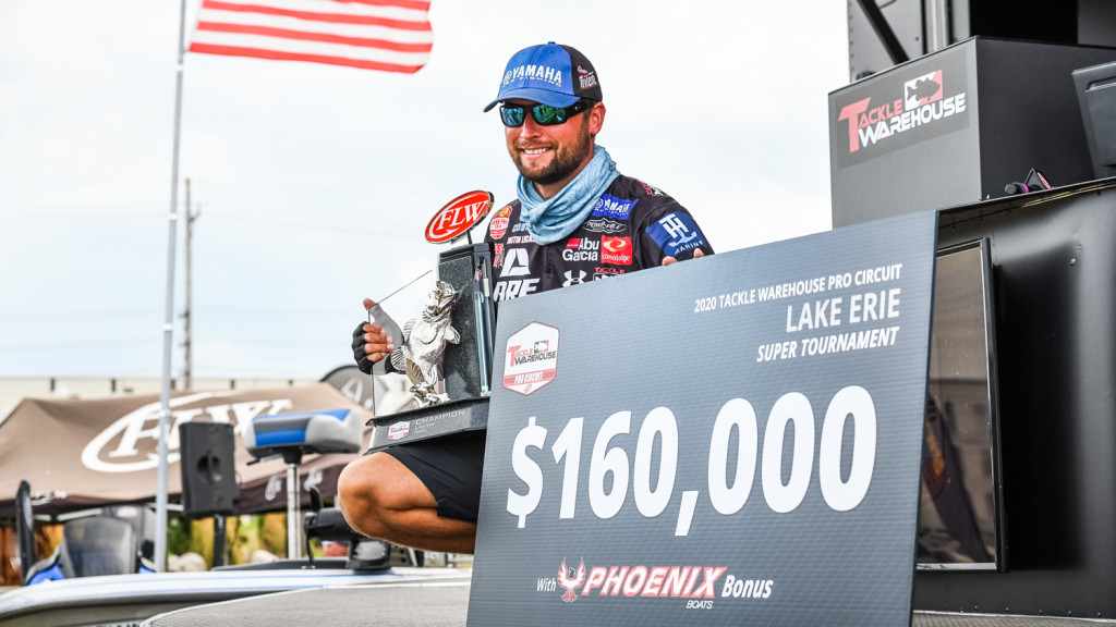 Image for Lucas Wins 160K on Erie