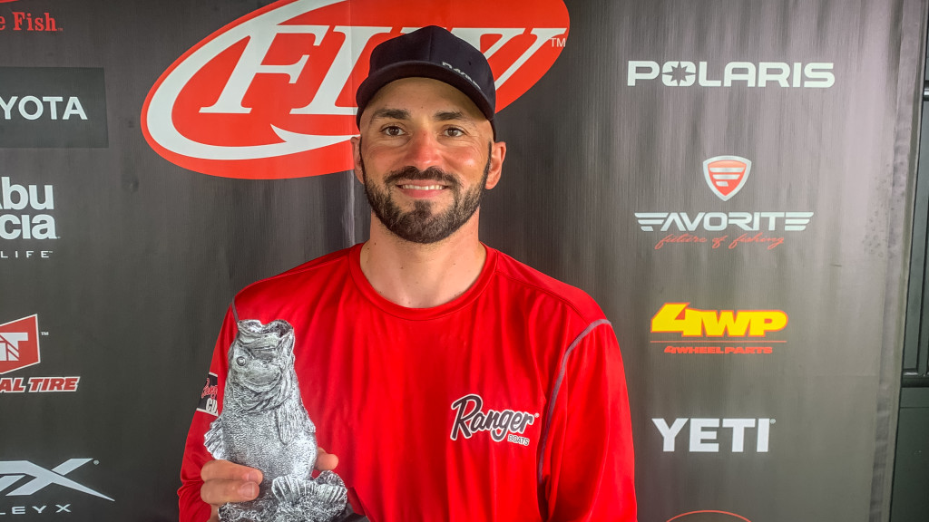 Image for Maryland's Wedding and New York's Balachvili Earn Wins at Phoenix Bass Fishing League Double-Header on Potomac River
